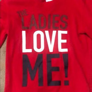 Long sleeve valentines shirt